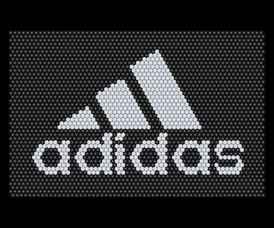 Balloon matrix adidas logo