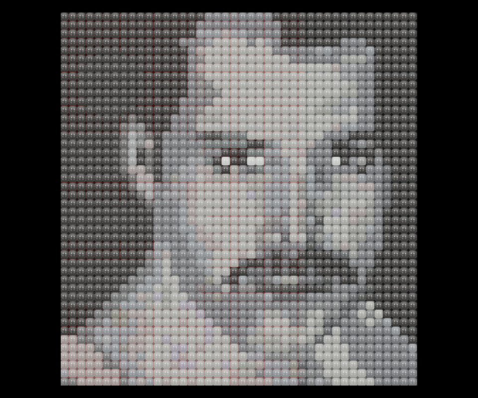 Balloon matrix Freddie Mercury