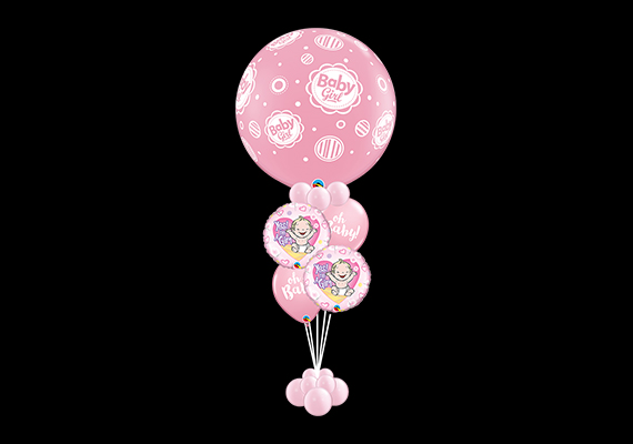 Balloon Bouquet Baby Girl