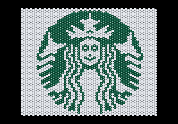 Starbucks Logo Matrix