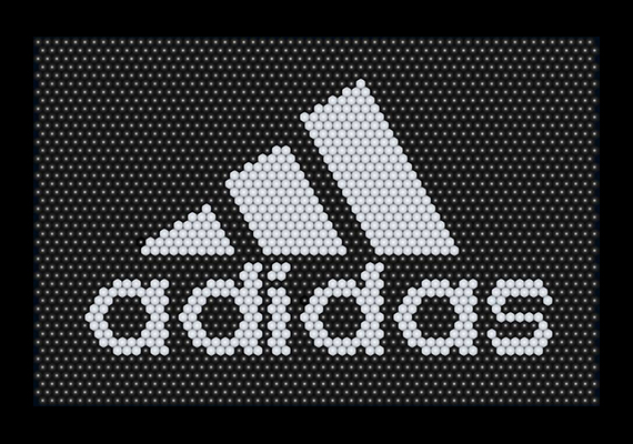 Adidas Logo Matrix